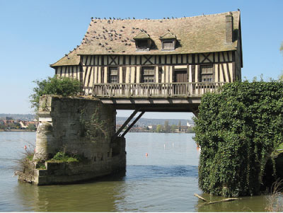 bridge-house