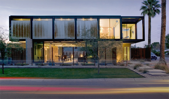 Luxury mansions celebrity homes sosnowski house usa for Minimalist house in usa