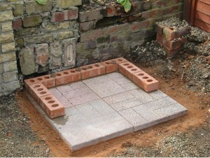 how to build a brick barbeque. Black Bedroom Furniture Sets. Home Design Ideas