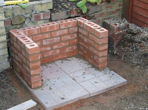 How to build a brick barbeque - Building your own brick smokehouse in easy steps ...