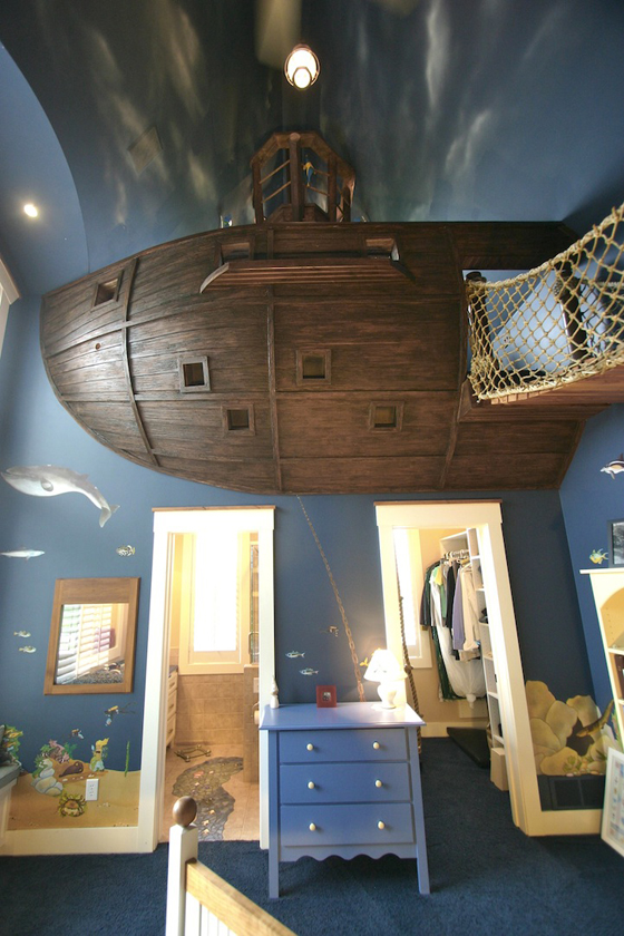 51 Ways To Diy The Bedroom Of Your Kids Dreams: The Pirate Ship Bedroom « PropertyPal