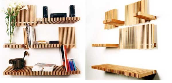 Creative Shelving Ideas 30+ creative shelving ideas to grab you book, line and sinker
