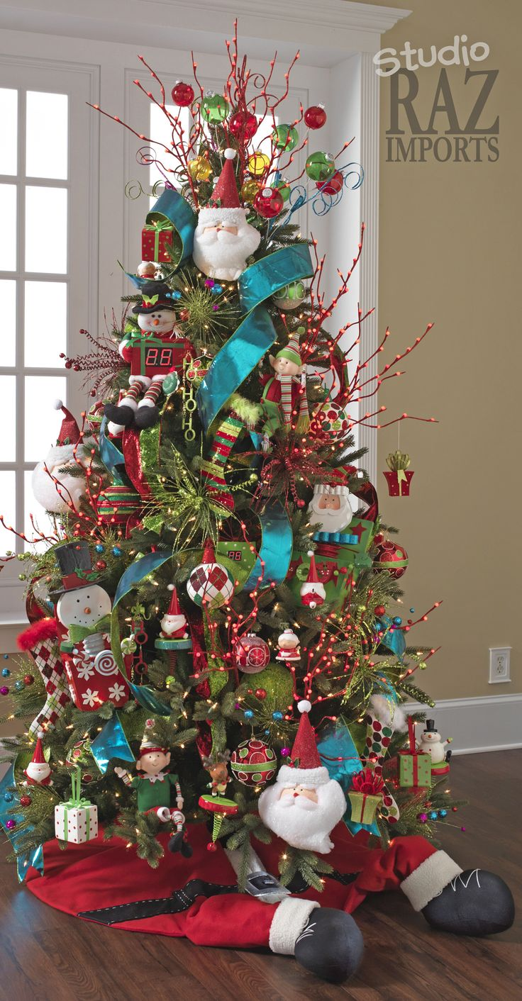 30 Festive Christmas Tree Decoration Ideas