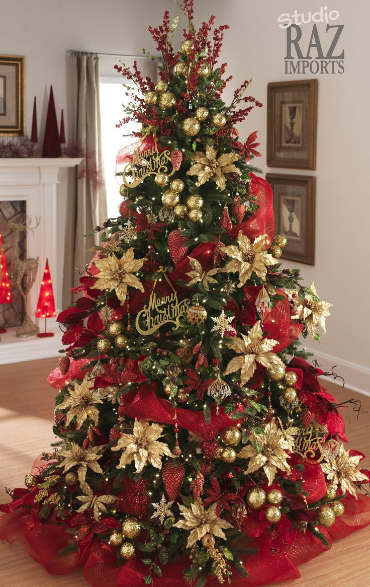Christmas Tree Decorating Ideas.30 Festive Christmas Tree Decoration Ideas