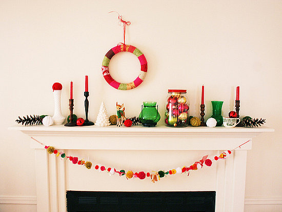 Decorating inspiration photos fireplace mantels christmas holiday