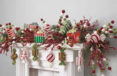 christmas-mantel-kids-theme
