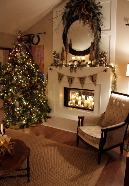 Christmas Decorations For Fireplaces
