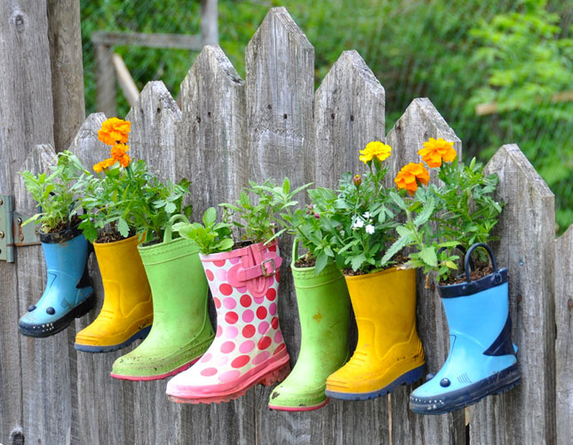 Image result for planting in wellington boots