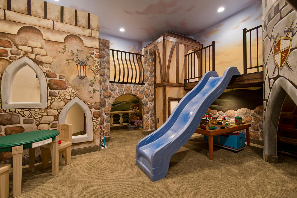 mediterranean kids - Bedroom Play Ideas