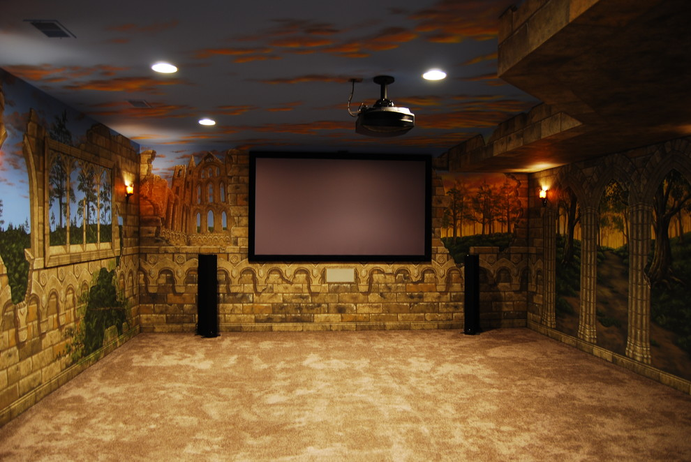 Game Of Thrones Inspired Home Cinema Project Propertypal
