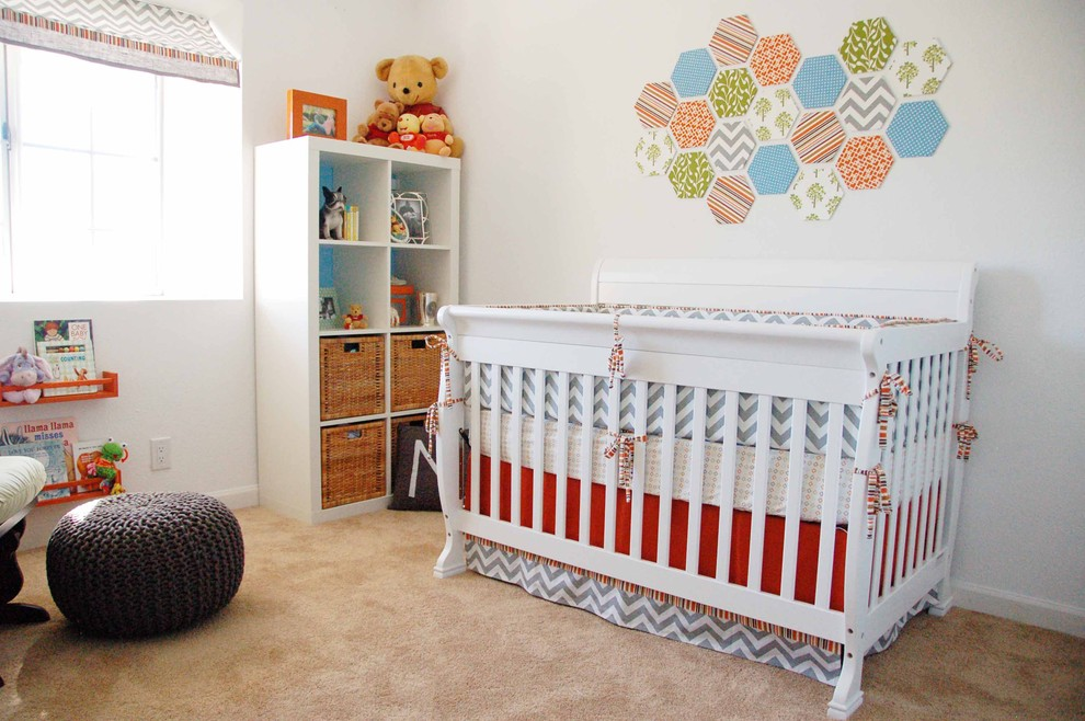21 amazing baby nursery ideas for Above the crib decoration ideas