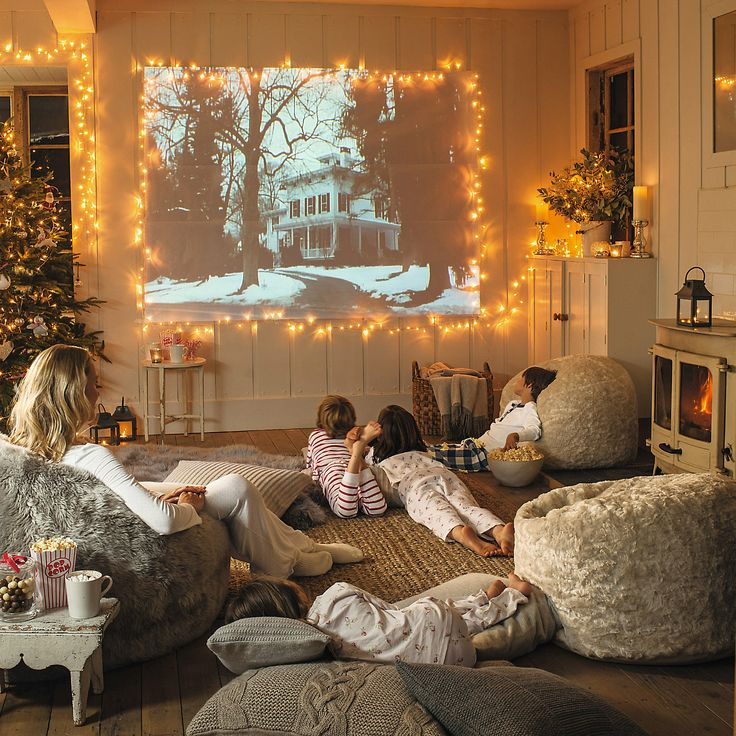 10 simple ideas for a cosy christmas living room