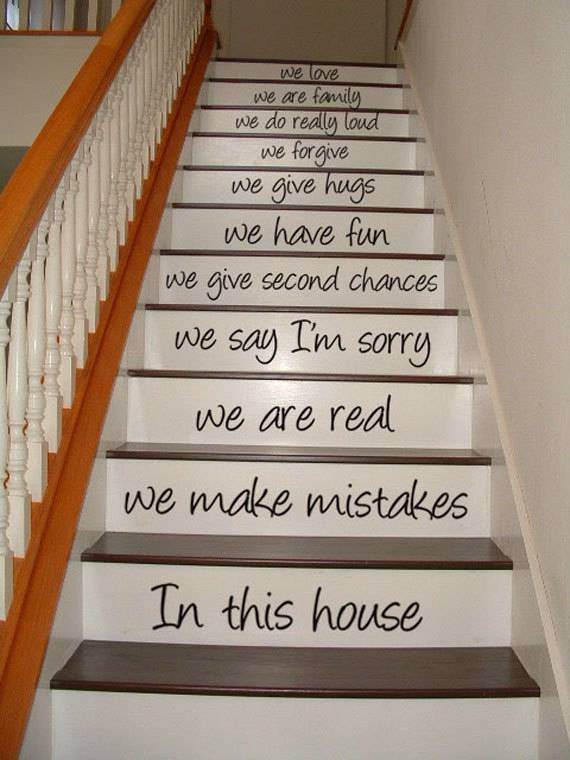 25 Funky Ways to Bring Your Staircase Back to Life