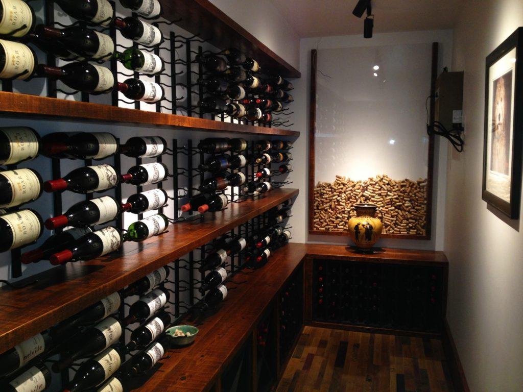 01-Boston-Newton-Massachusetts-Wine-Cellar-Design-Vintage-View-Wine-Racks-Custom-Shelving-and-X-Cube-Storage