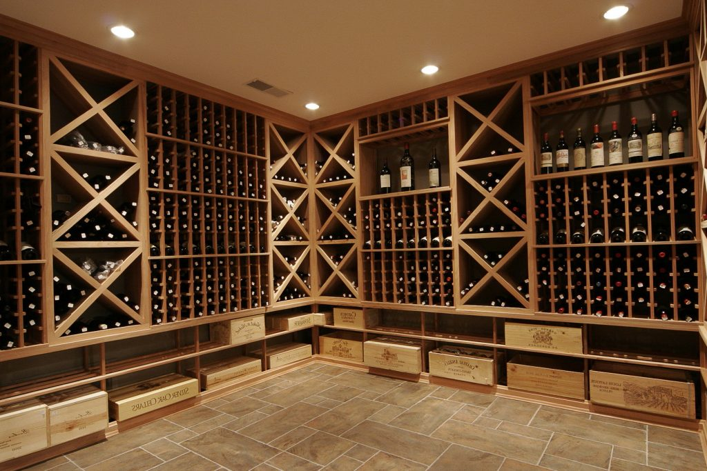 16 contemporary storage ideas to house your wine for Wine cellars designs