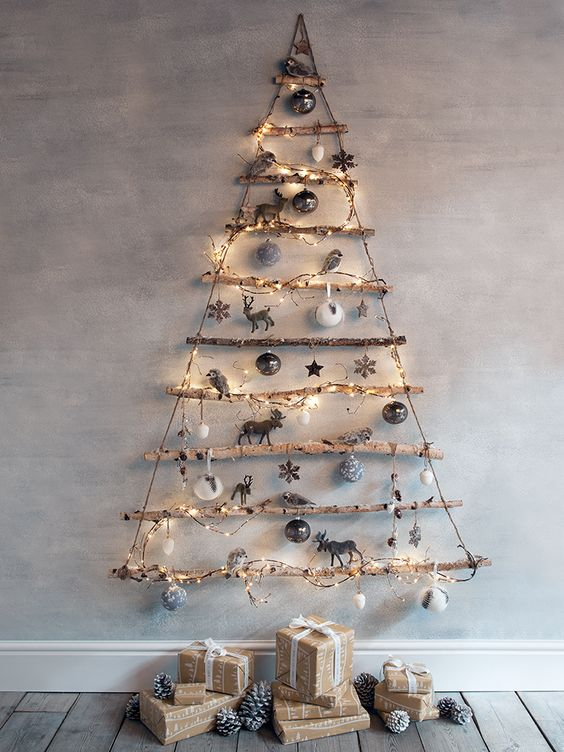 rustic alternative Christmas Tree