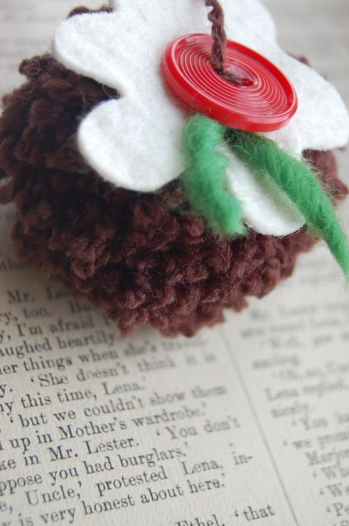 Christmas Pudding Cute Christmas Decoration