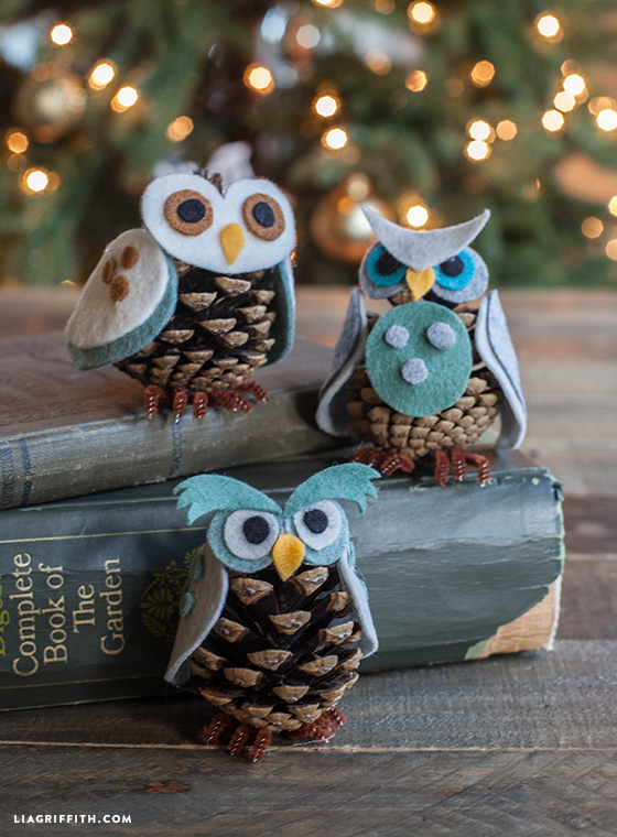 Owl Ornaments for Christmas Tree