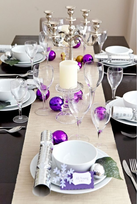 Colorful Christmas Tabletop Decor Ideas 22 This Colourful Dining Table